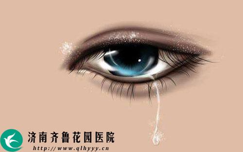 春天眼睛迎风流泪是怎么回事