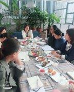 聊城市中心医院护理部组织举办文化沙龙