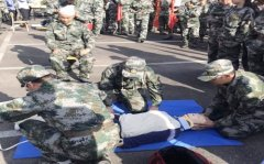 胶州市妇幼保健院参加青岛市卫生应急救援队伍实战演练